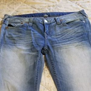 TRUE RELIGION/BOOTCUT JEANS/WOMEN'S LONG